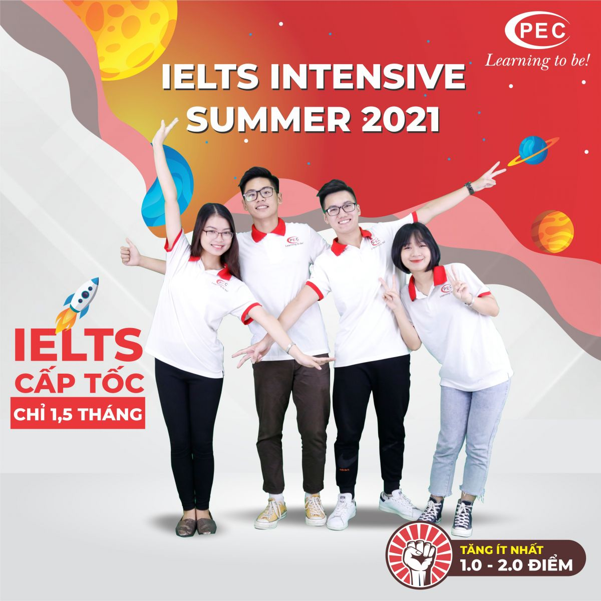IELTS INTENSIVE SUMMER 2021 - IELTS CẤP TỐC