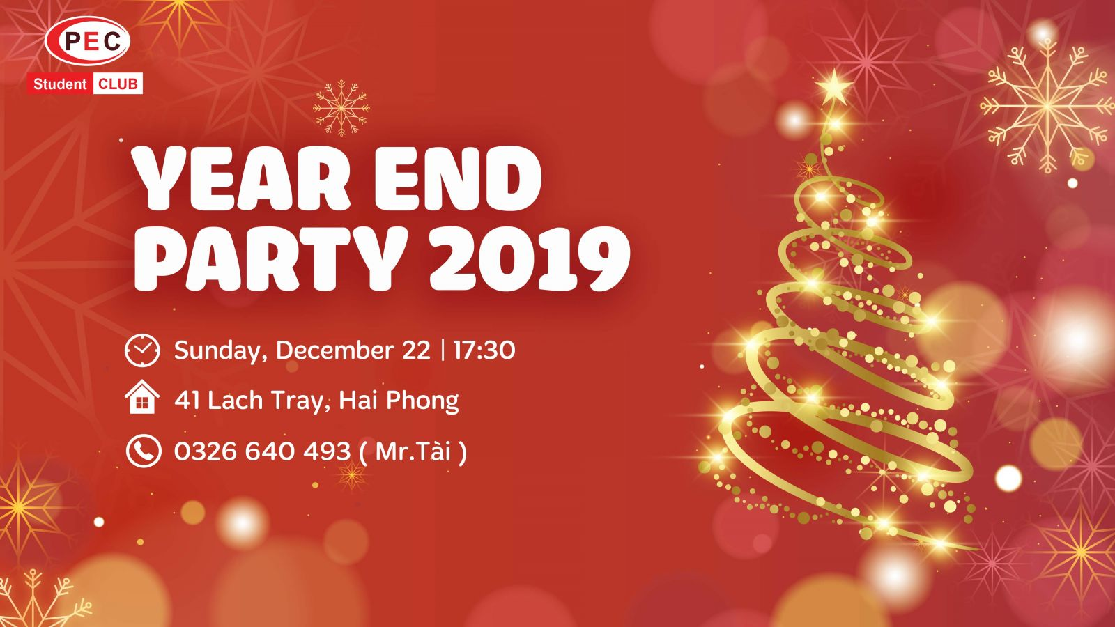 YEAR END PARTY