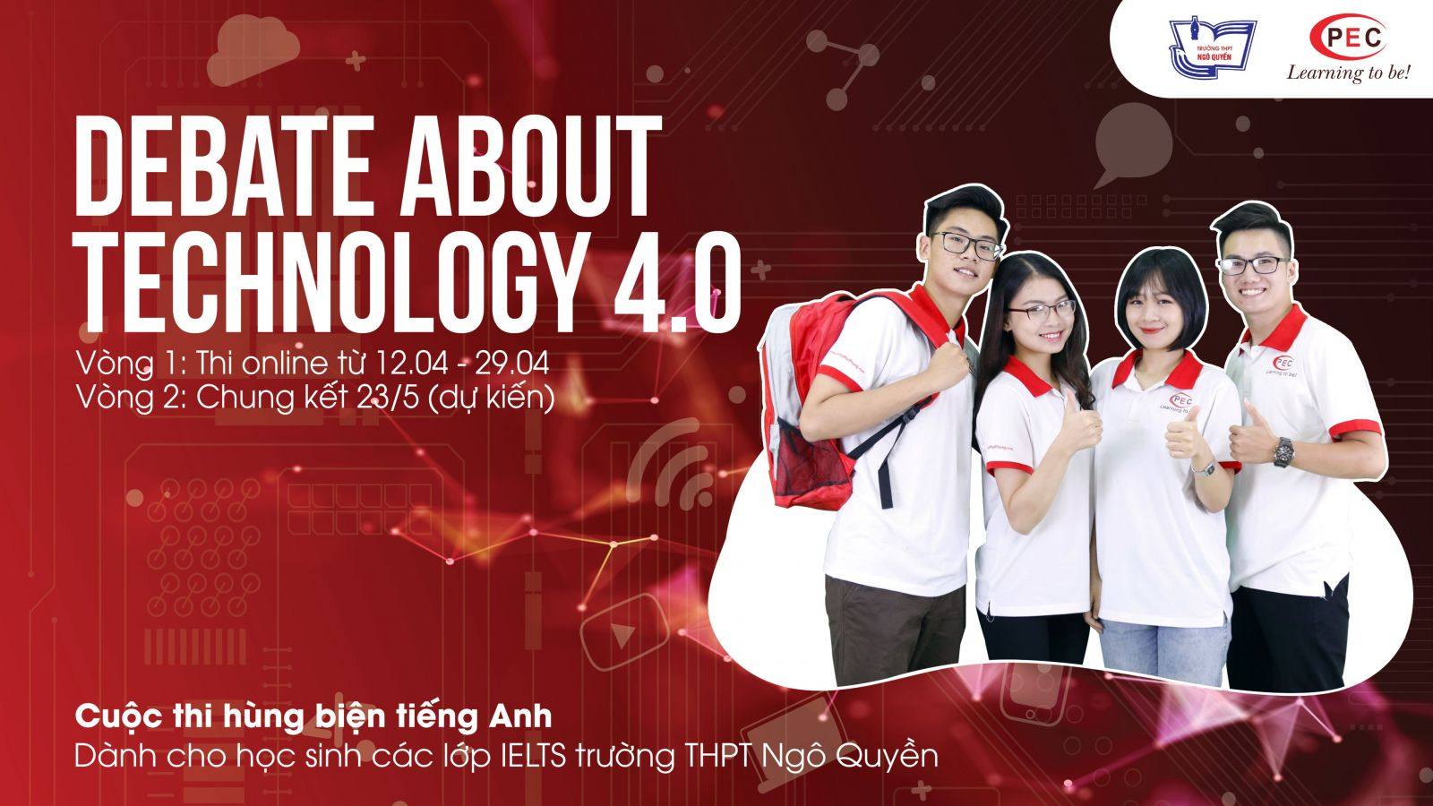 """DEBATE ABOUT TECHNOLOGY 4.0"" - THPT Ngô Quyền"